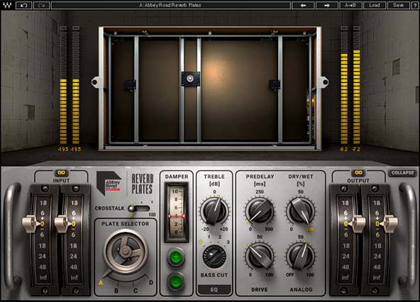 UAD EMT 140 vs Waves Abbey Rd Plates Shootout Review | Gearshoot