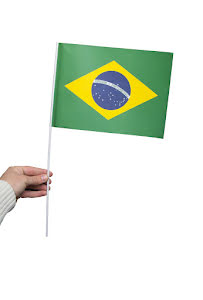 Pappersflagga, Brasilien