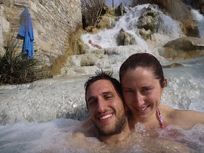 Photo: Cascate del Gorello, Terme di Saturnia, Tuscany, Italy - Daniele and Kait. More at  http://blog.kait.us/2013/03/terme-di-saturnia.html