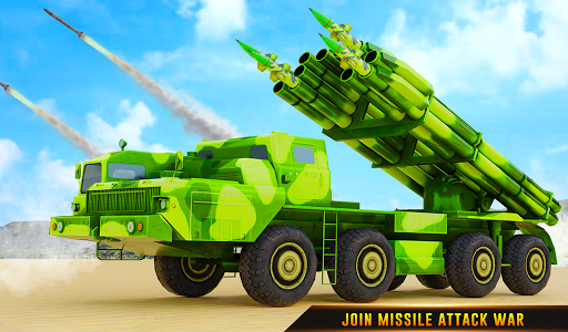 US Army Robot Missile Attack: Truck Robot Games modavailable screenshots 18