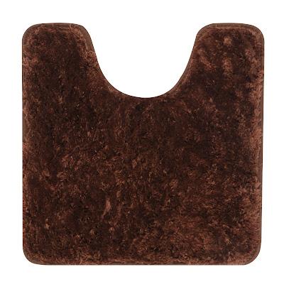 Коврик для туалета Red Coral 50х50 см темно-коричневый