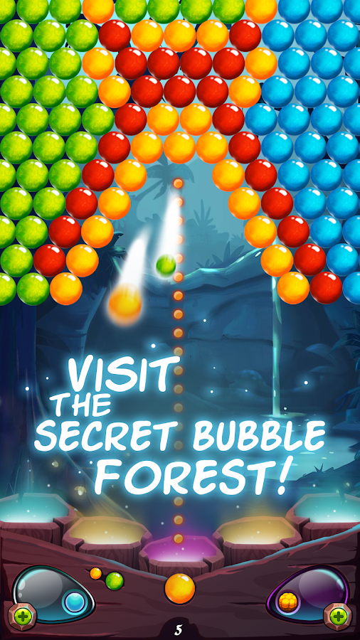 Secret Bubble Forest- screenshot