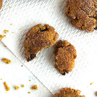 Pumpkin Snickerdoodles with Chocolate Chips