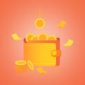 Cash Flow---Personal network loan icon