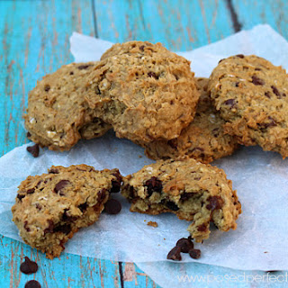 Avocado Chocolate Chip Oatmeal Cookies ~ Cookie of the Month