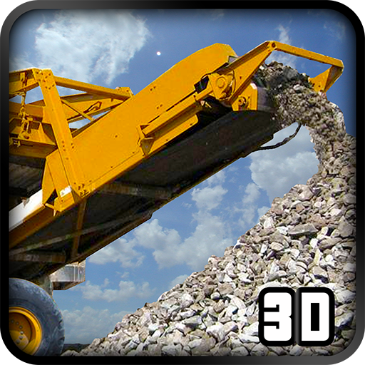 Stone Crusher Crane Operator game (apk) free download for Android/PC/Windows