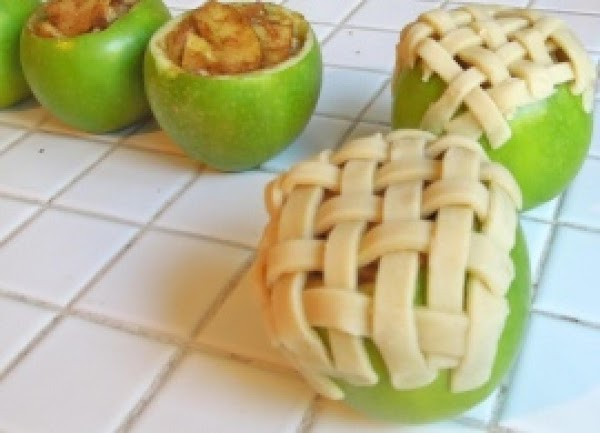 Apple Pie Baked In The Apples Recipe