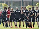 Hazard, Alderweireld et Pocognoli à l'entraînement