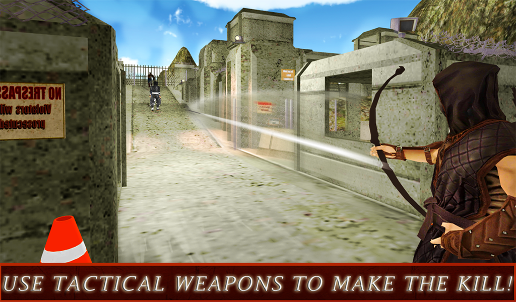 Ninja Warrior Assassin 3D- screenshot