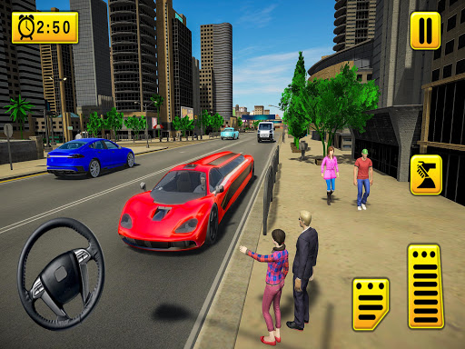 Limousine Taxi 2020: Luxury Car Driving Simulator android2mod screenshots 3
