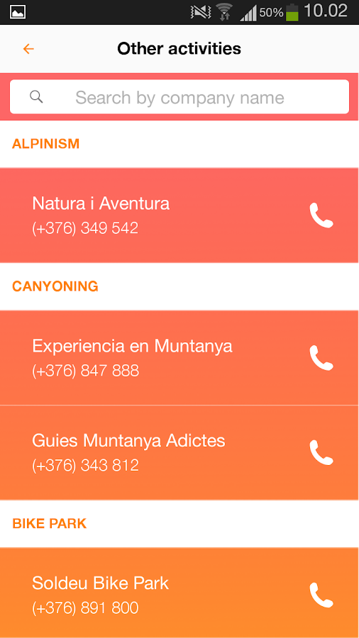 Active Tourism Andorra- screenshot