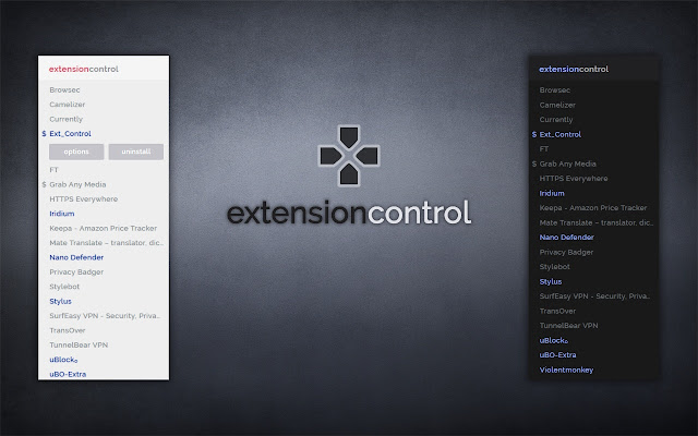 Extension Control