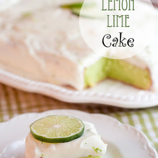 Lemon Lime Cake Recipe