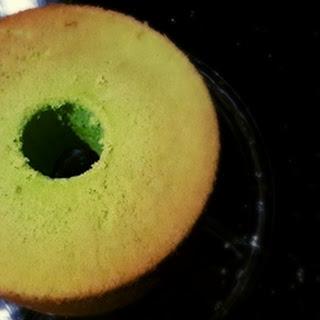 Pandan Chiffon Cake.