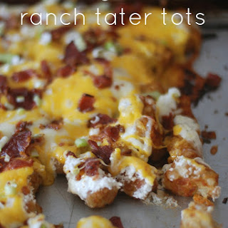Cheesy Bacon Ranch Tater Tots