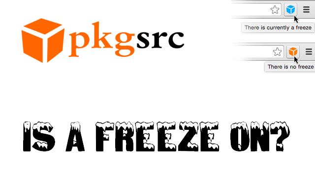 Pkgsrc Freeze Status