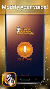 Změňte svůj hlas pomocí efektů - náhled