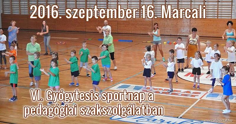 VI. Gyógytesis sportnap a pedagógiai szakszolgálatban