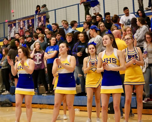 HHS vs GEHS Cheer
