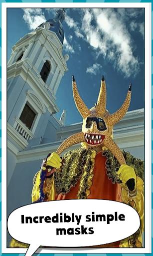 カリブ海マスク