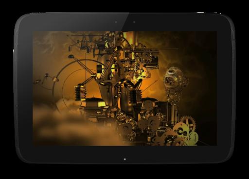 玩免費個人化APP|下載機制的3D動態壁紙 app不用錢|硬是要APP