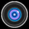 Selfie camera front flash icon
