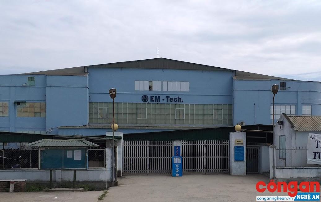 Chi nhánh Công ty EM - Tech Việt Nam tại Nghệ An