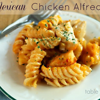 Mexican Chicken Alfredo