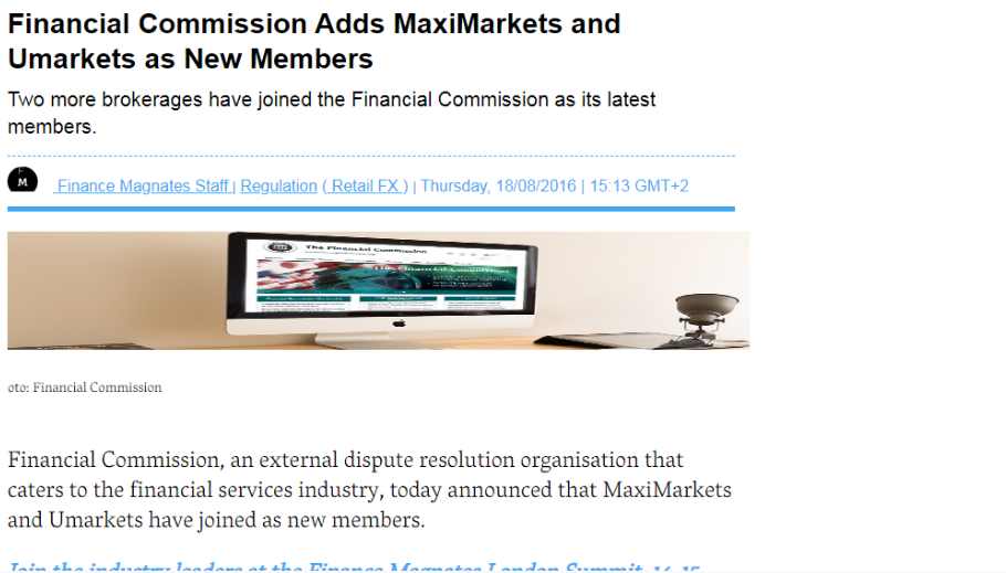 MaxiMarkets falsely claims about its association with Russian authorities