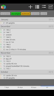 Trackit Notebook- screenshot thumbnail