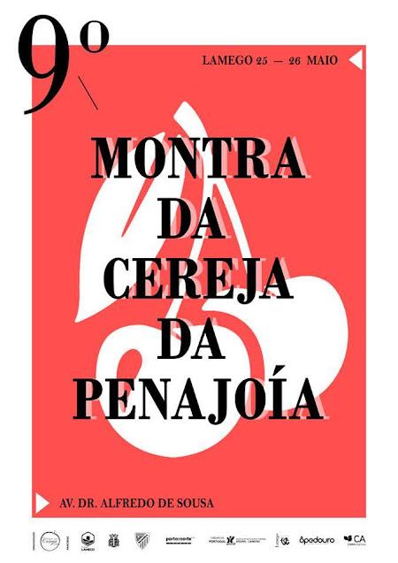 Montra da Cereja da Penajóia regressa a Lamego a 25 e 26 de maio