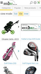 Great Golf Deals.com screenshot 0