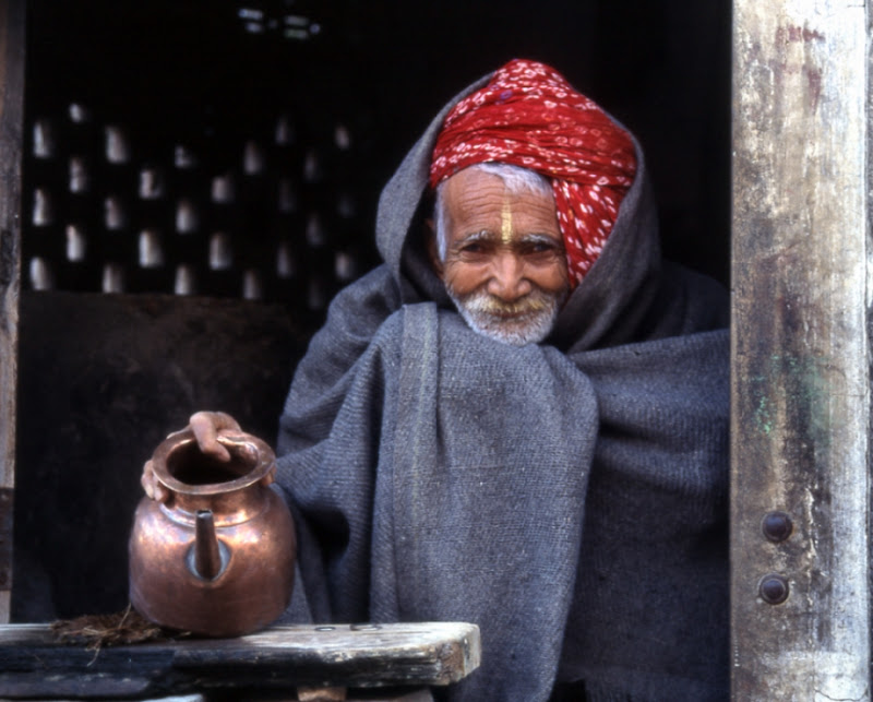 vecchio indiano di smpaint
