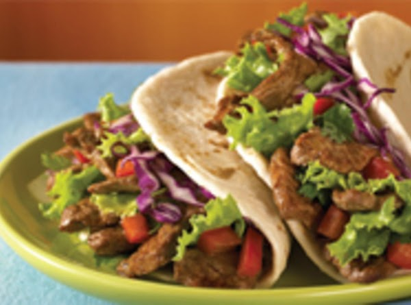 Steamed Steak Tacos Recipe