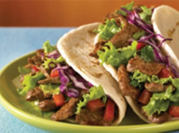Steamed Steak Tacos