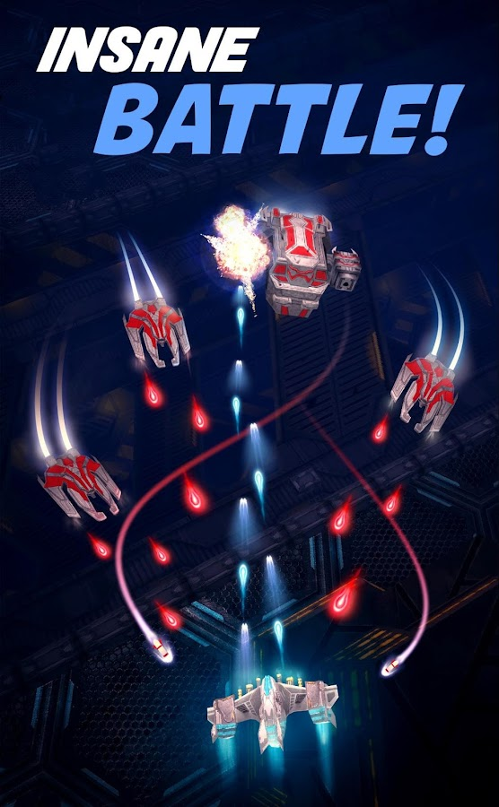 Phoenix Hawk - Space Shooter SHMUP- screenshot