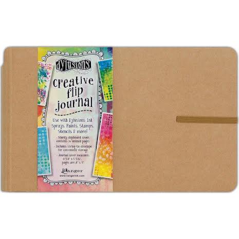 Dylusions Creative Flip Journal 8X5