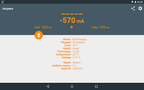 Ampere 2.11 [Pro Unlocked/Patched] Cracked Apk 9