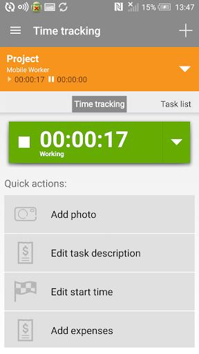 Mobile Worker – Time tracker FULL v5.6.2 [Unlocked]