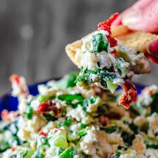 Last-Minute Mediterranean Feta Cheese Dip.
