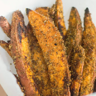 Sweet Potato Wedges (Baked Not Fried) Recipe