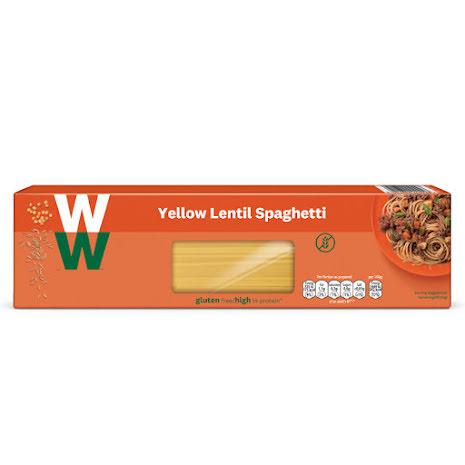 Spaghetti av gula linser, 250g