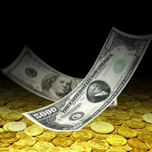 Falling Money 3D Live Wallpaper