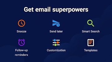 screenshot of Spark Email – Connect Gmail, Yahoo & Outlook mail