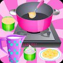 Cooking Games Ice Cream Banana icon