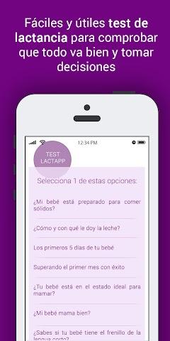 android LactApp Consultas de lactancia Screenshot 7