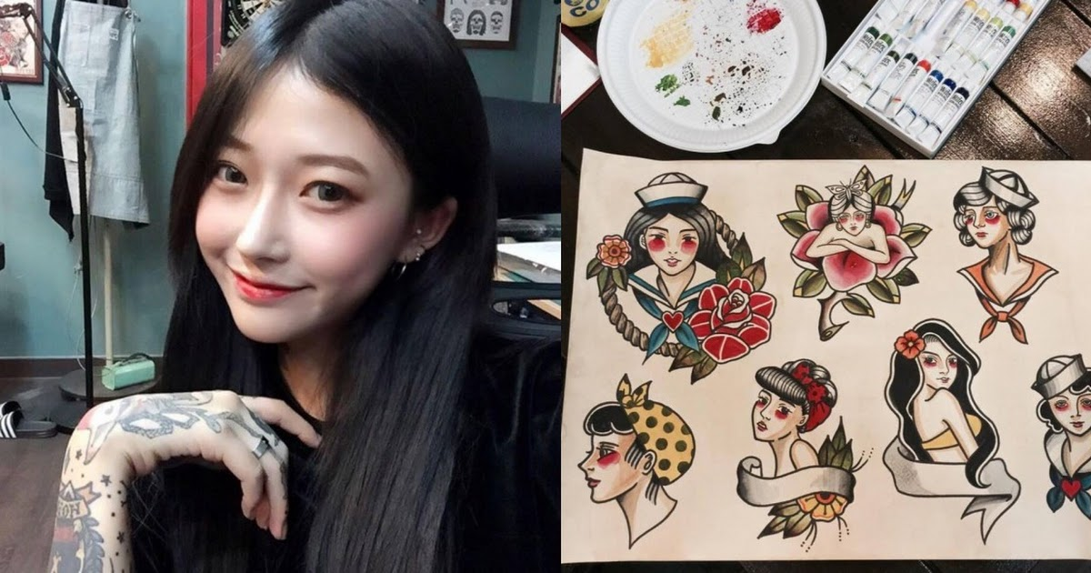are tattoos the next trend for girls in korea koreaboo