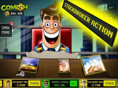 Comish Clicker - Idle Tycoon PRO Screenshot