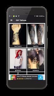 Girl Tattoo Designs 2017 - náhled