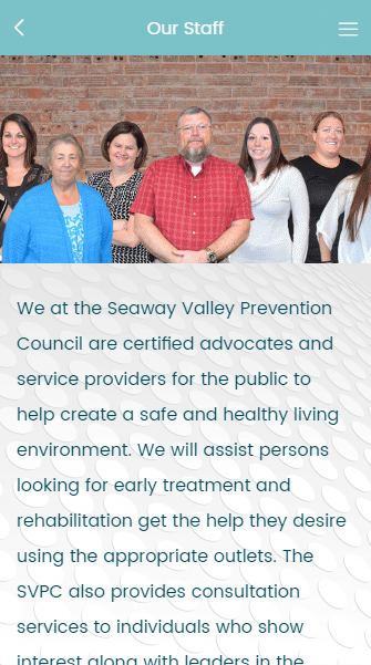 Seaway Valley Prevention Counc- screenshot